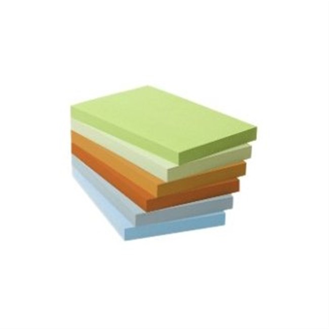 Post-it confezione da 6 blocchi 76x127mm
