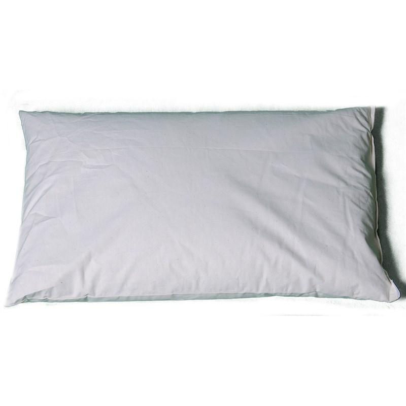 Cuscino letto 70x45 in pula di farro biologica - Cuscini per letto ...