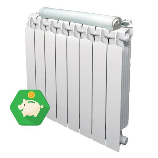 Radiator booster ventola per termosifone evita la for Temperatura acqua termosifoni