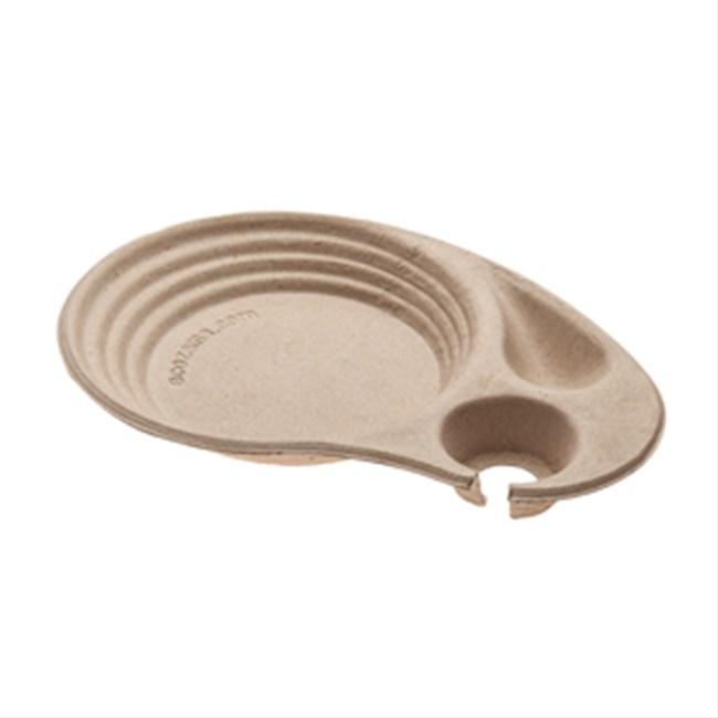 Vassoio zen in polpa di cellulosa for Vassoi assorbenti