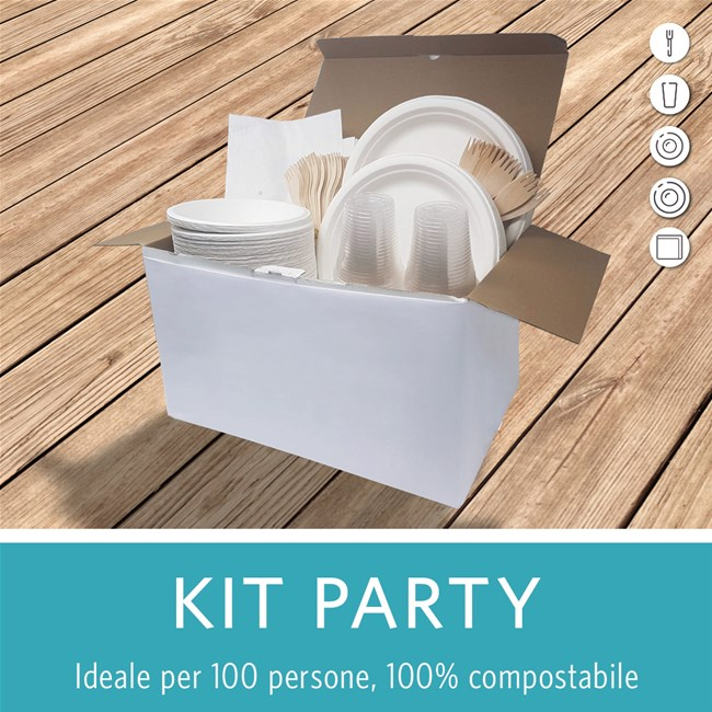 kit party ecosostenibile