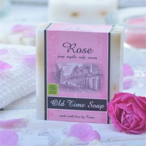 Saponette naturali Old Time alla Rosa