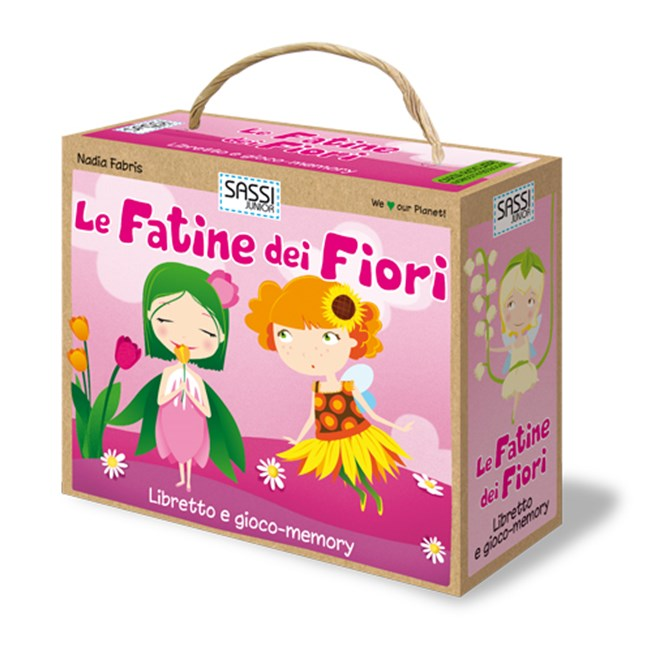 Flower Fairies. Book and memory game