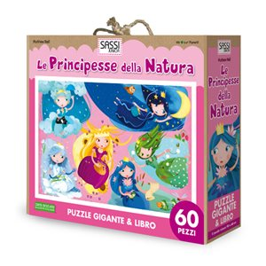 Nature Princesses Giant Puzzel